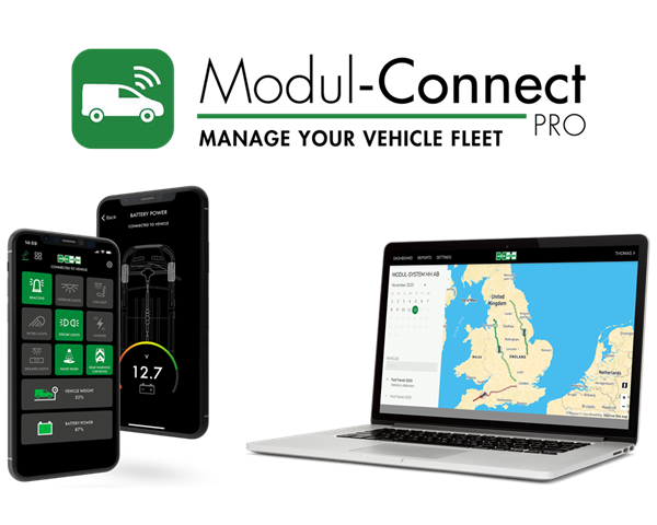 Modul-Connect PRO - Manage your vehicle fleet